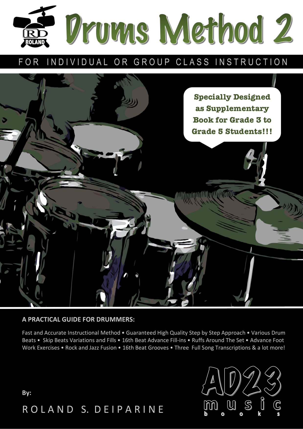 RD-Drums-Method-2-Front-Cover - ISBN Services
